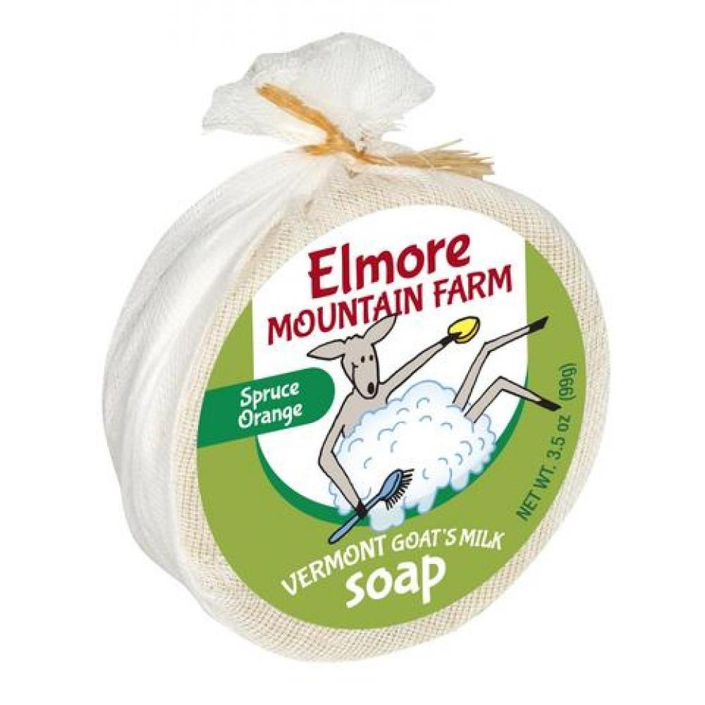 Vermont Made Goat Milk Soap - Spruce Orange