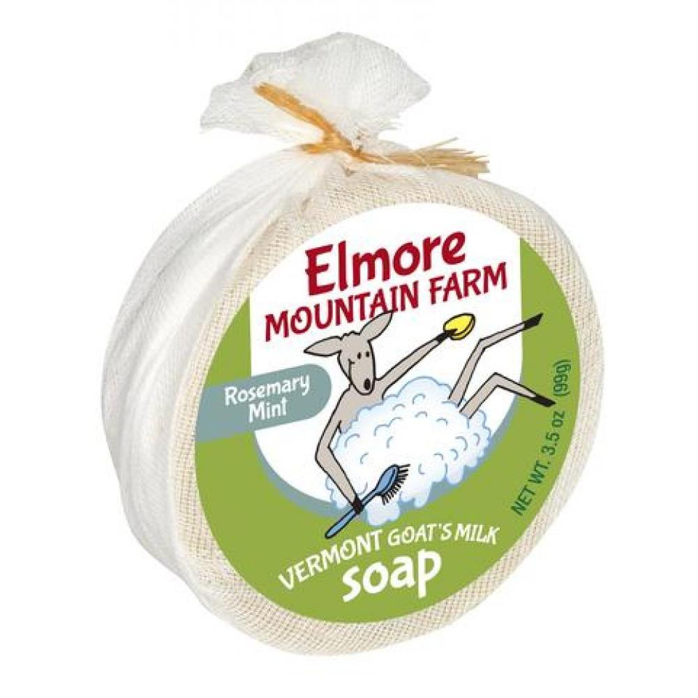 Vermont Made Goat Milk Soap - Rosemary Mint