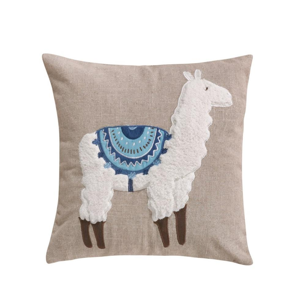 Lillian Llama Down Pillow