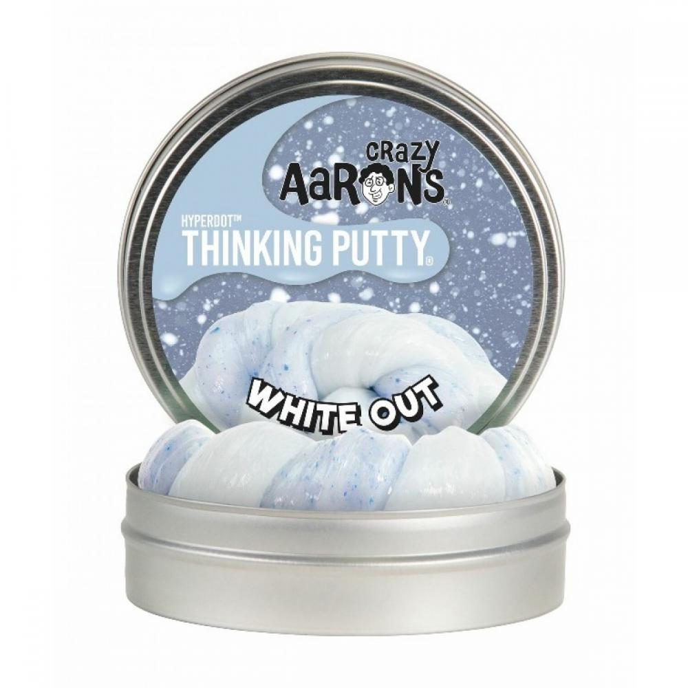 Holiday Thinking Putty 4in White Out