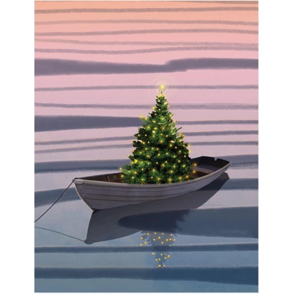 Boxed Card - Christmas - Harbor Christmas