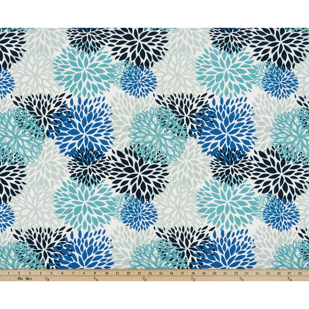 Body Pillow 18 X 48 Premier Blooms Blue Vista (Outdoor)