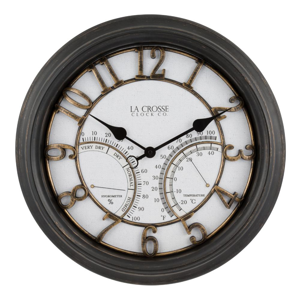 Indoor/Outdoor Analog Wall Clock 19.5 inch