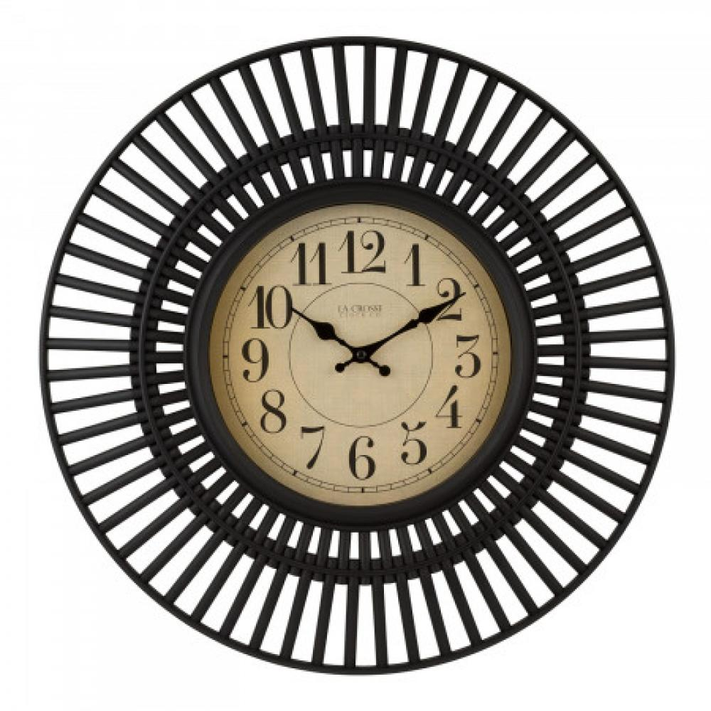 Black Frame Clock 20 inch