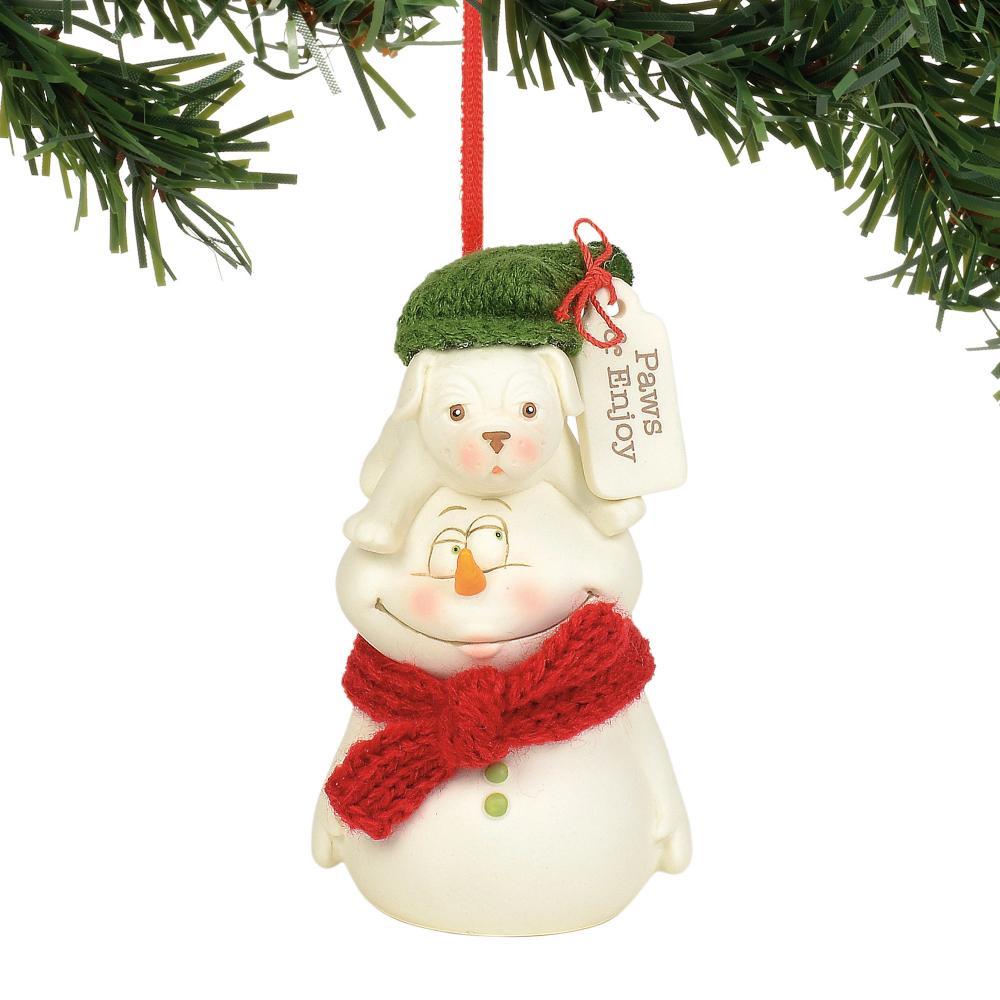 Ornament - Paws & Enjoy