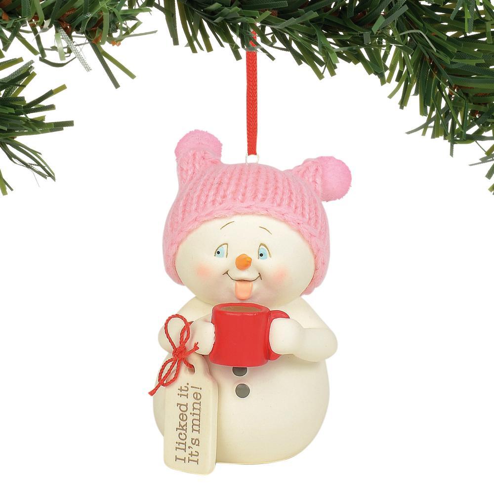 Ornament - Licked It, It\'s Mine