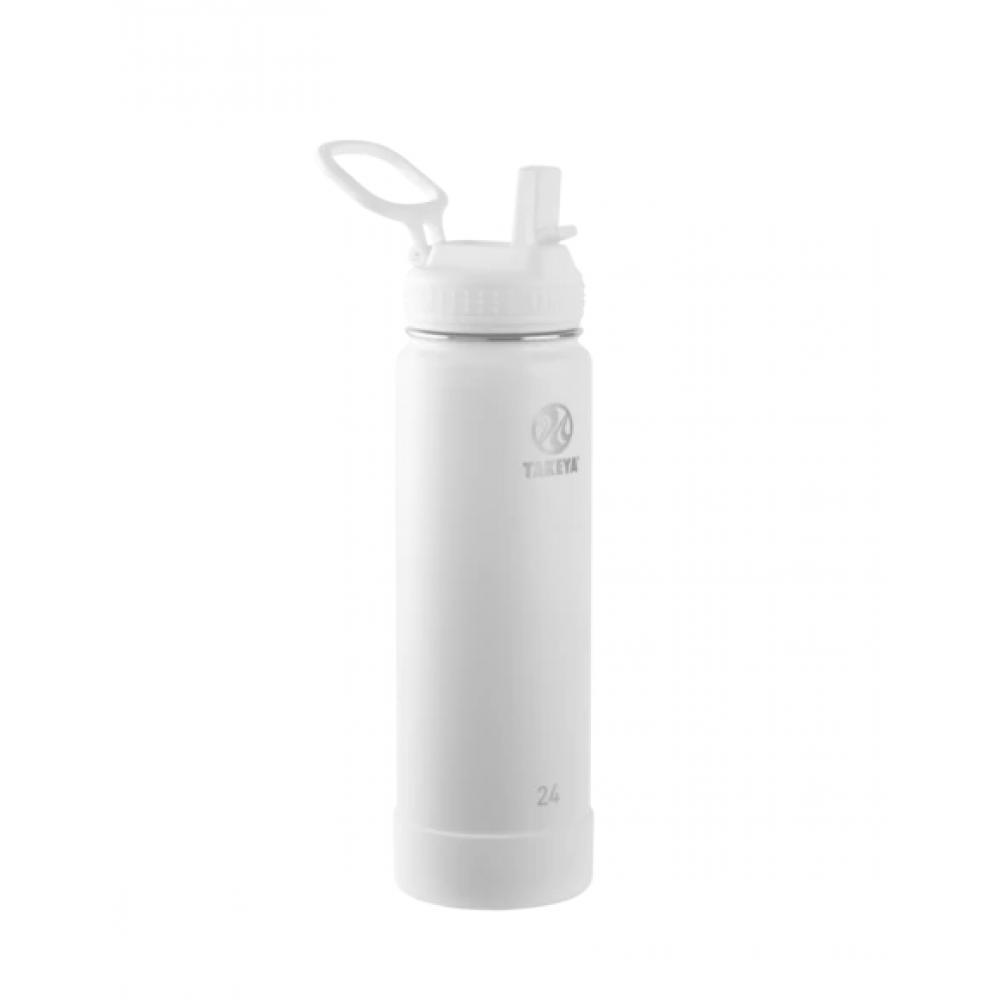 Water Bottle Actives Insulated Stainless Steel Straw 24oz Arctic