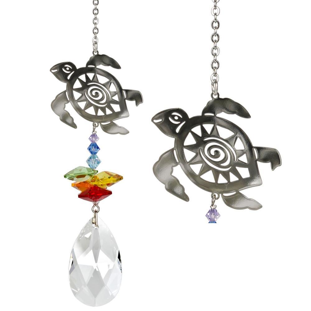 Crystal Fantasy Suncatcher - Turtle