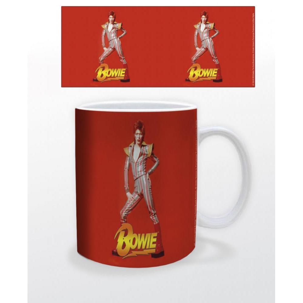 David Bowie Red 11oz Mug