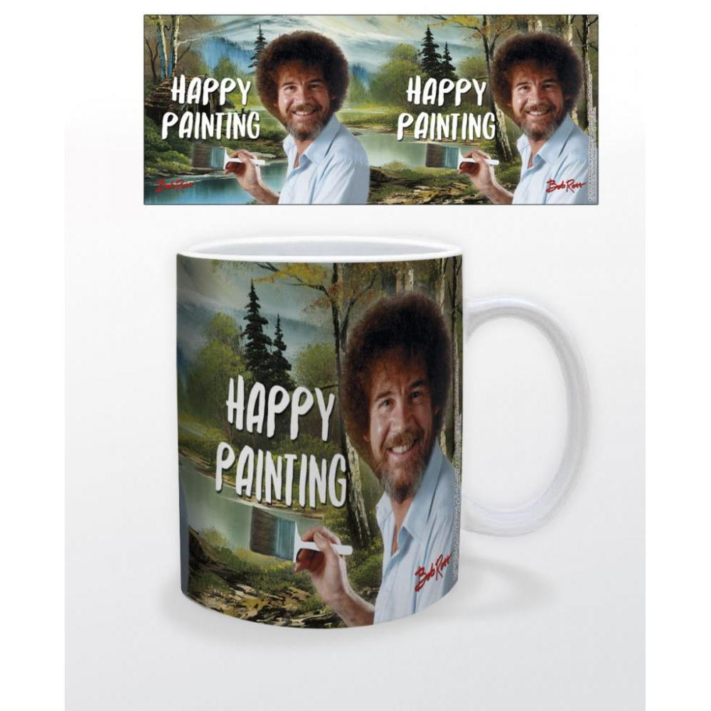 Bob Ross Happy Painting 11oz Mug