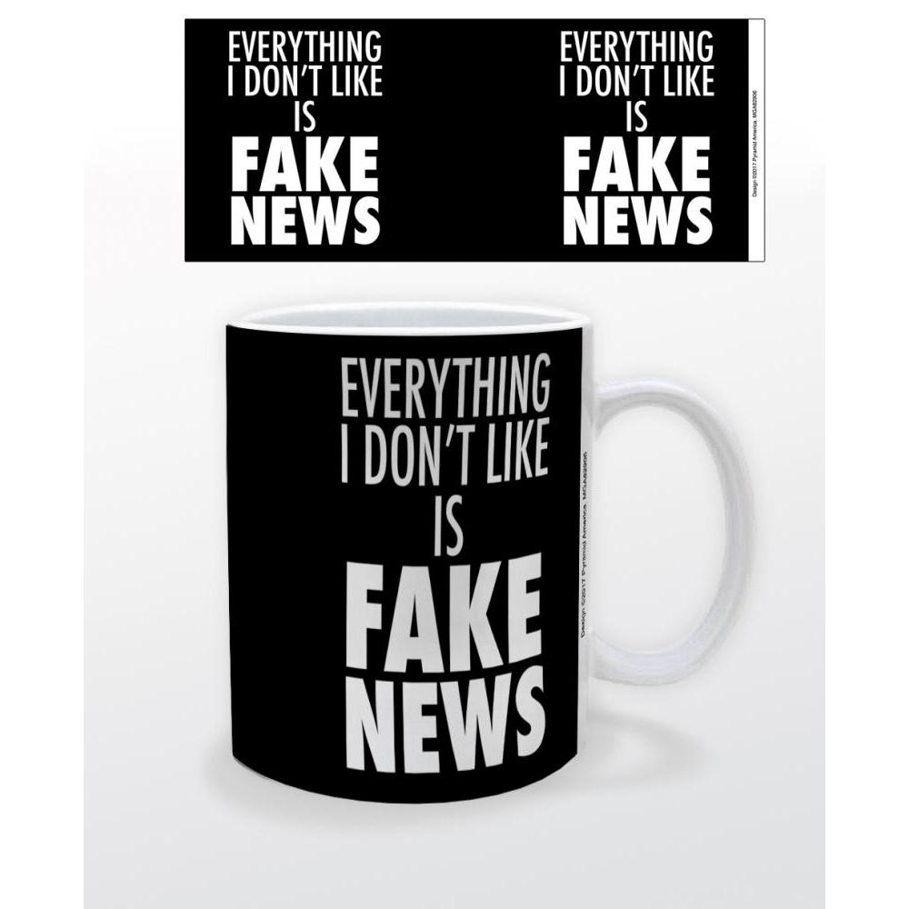 Everything I Don't Like is Fake News 11oz Mug