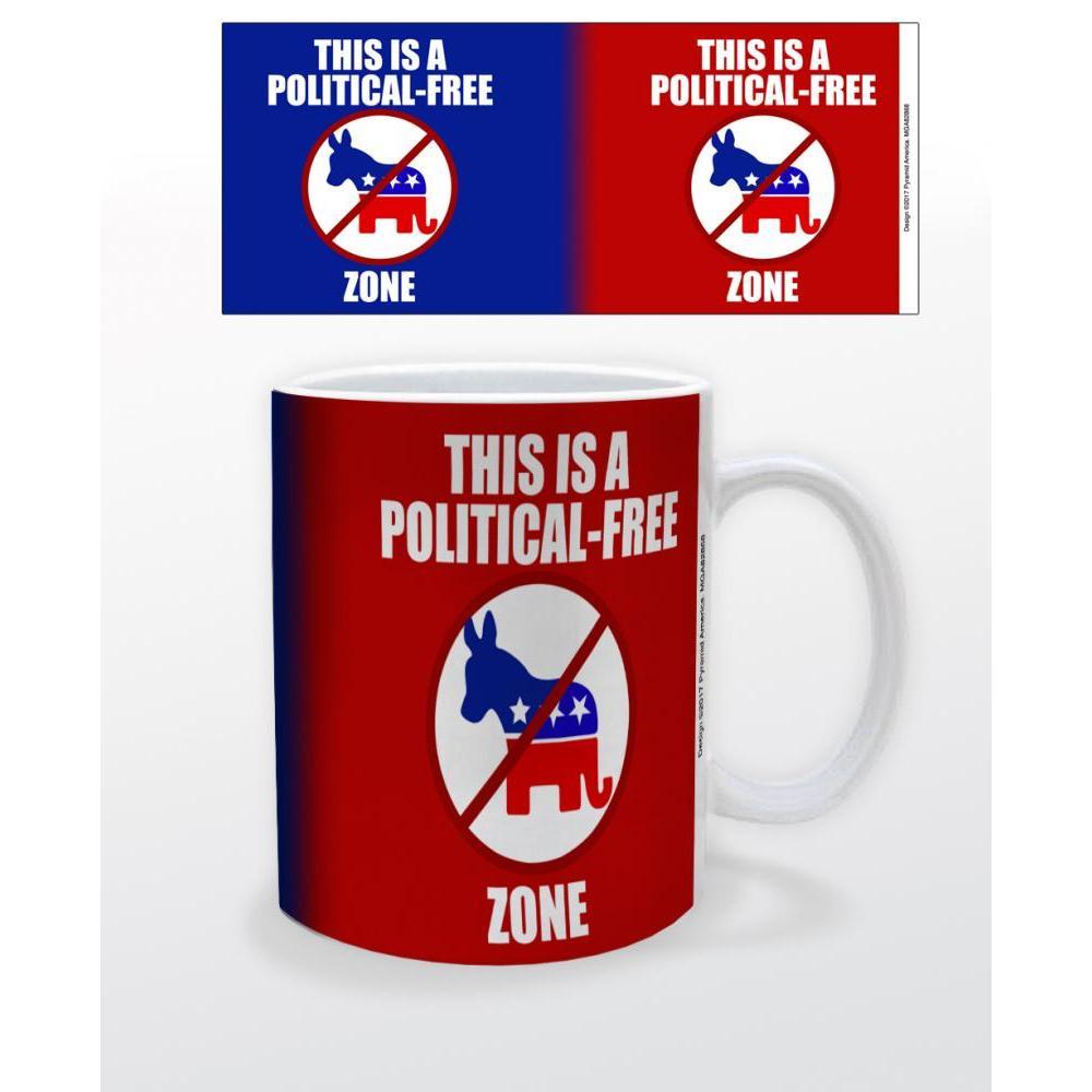 Political - Free Zone 11oz Mug