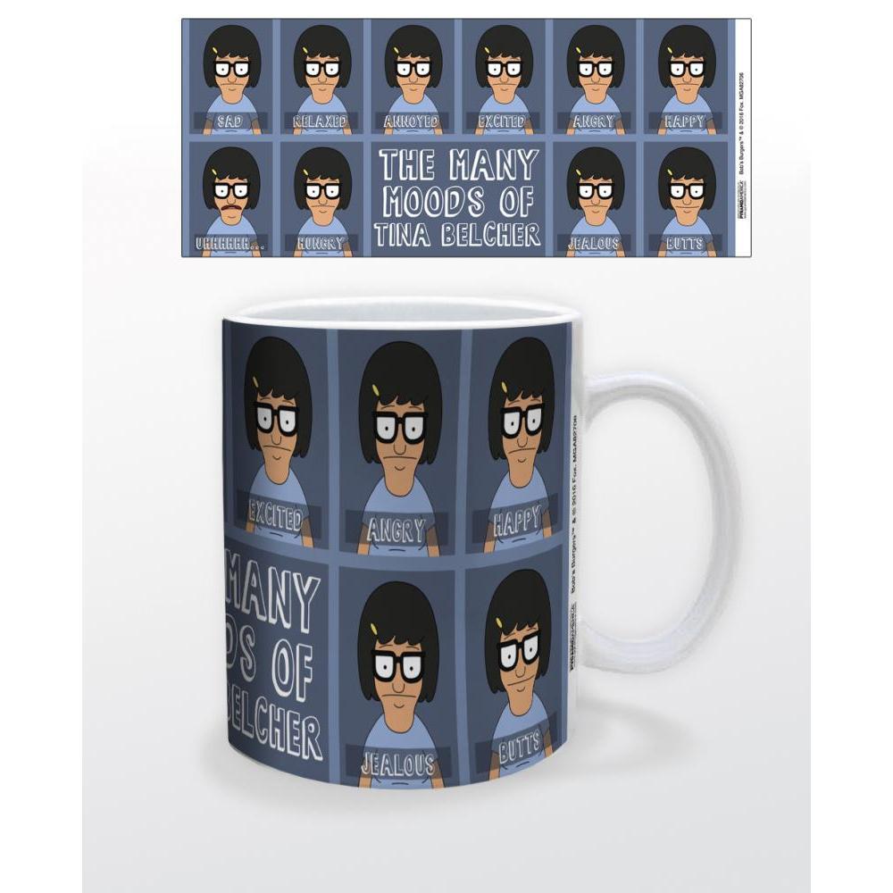 Bob�s Burgers Moods of Tina 11oz Mug