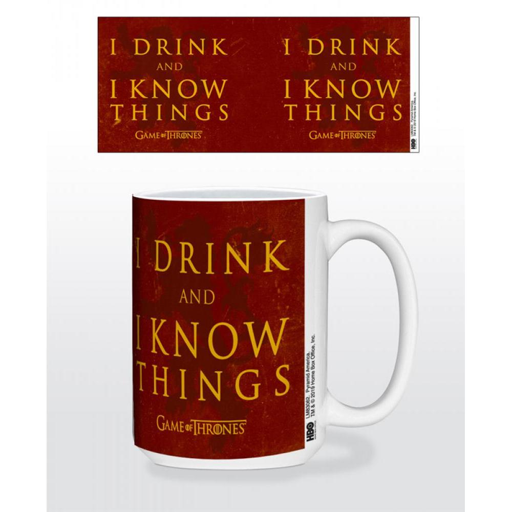 Game of Thrones I Drink and I Know Things 15oz Mug