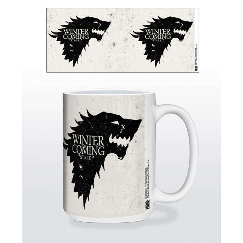 Game of Thrones Stark Sigil 15oz Mug