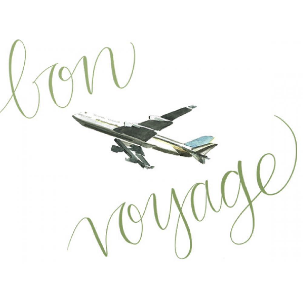 Bon Voyage - Plane