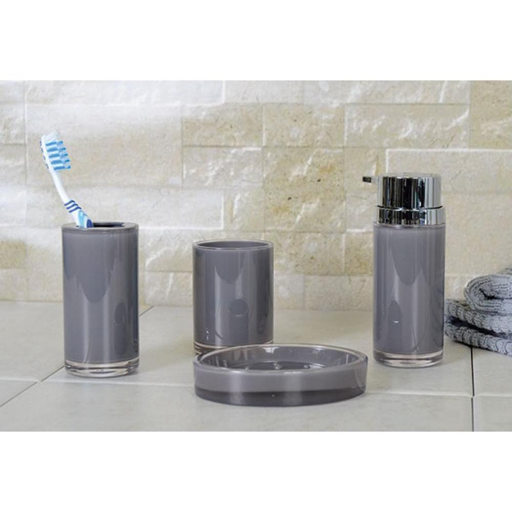 Eternal Acrylic Dark Grey Soap/Lotion Pump