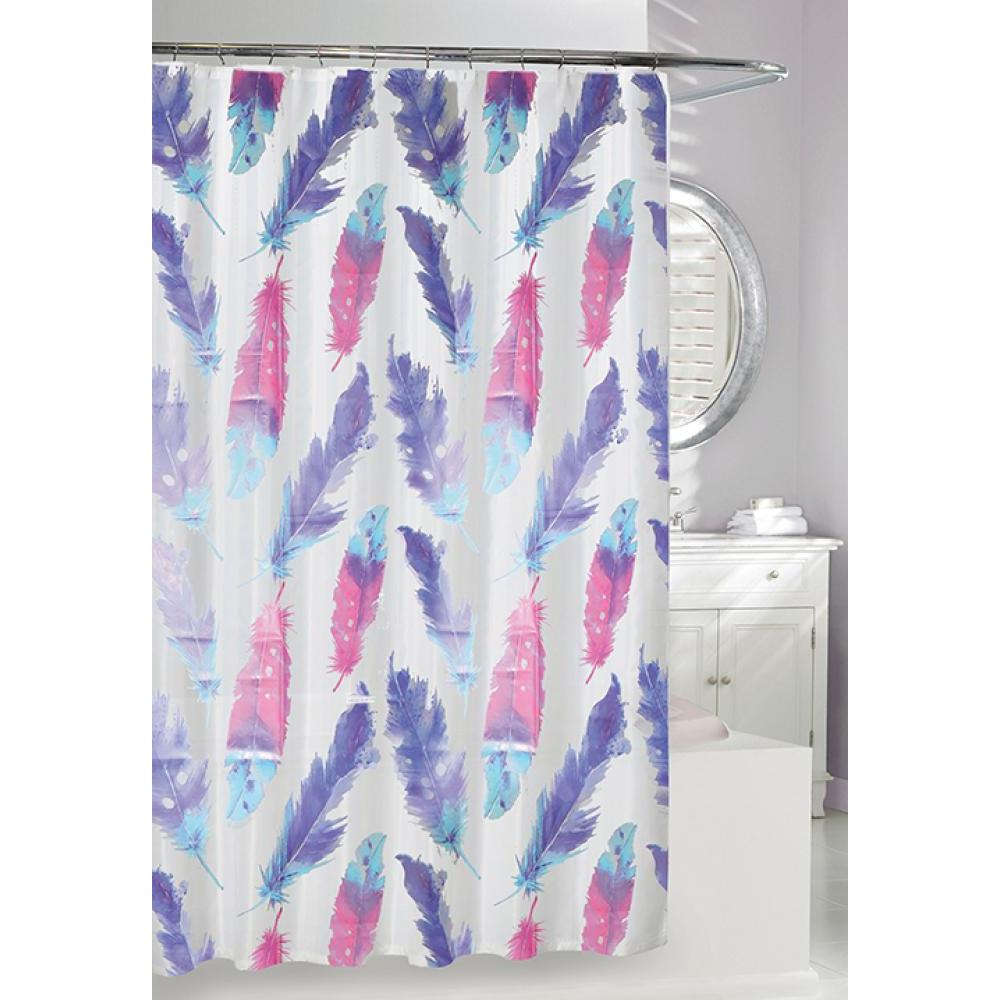 Shower Curtain EVA Painted Plume