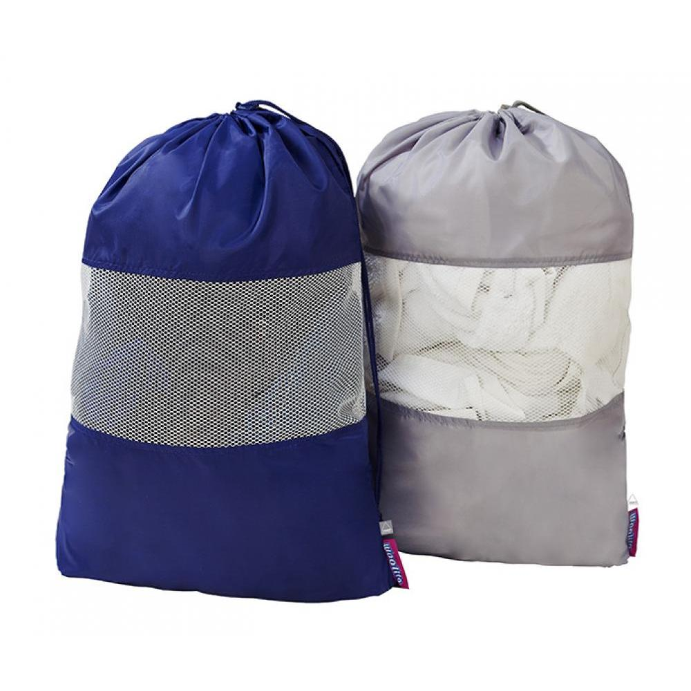 Laundry Bag with Mesh Window Asst Colors