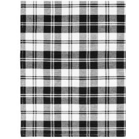 Flatweave Napkins 22in x 22in French Country Black
