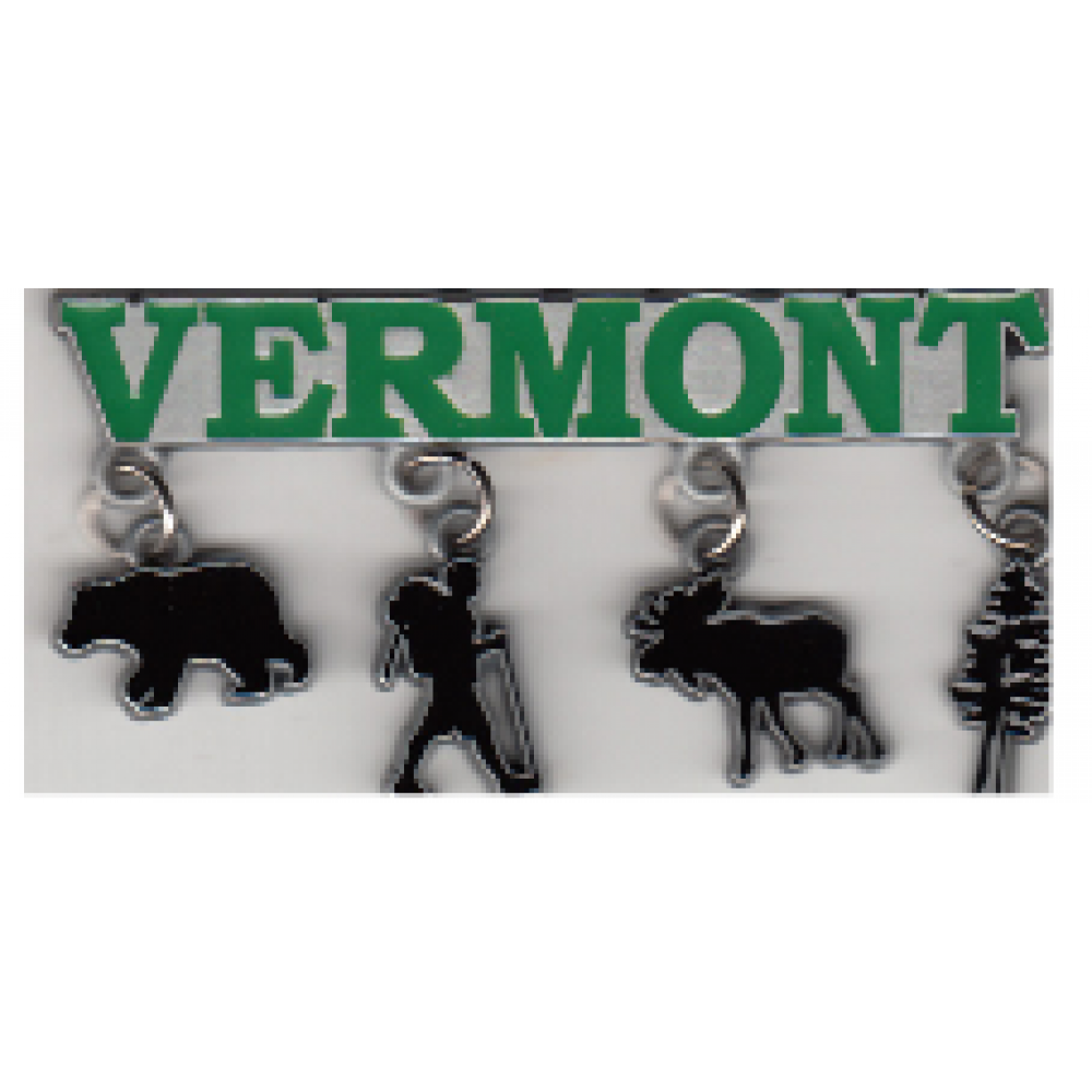 Magnet Vermont with little charms