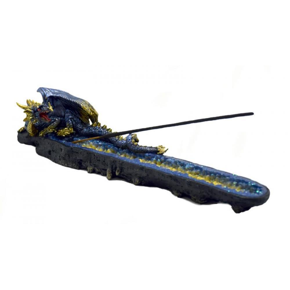 incense Burner Blue Dragon