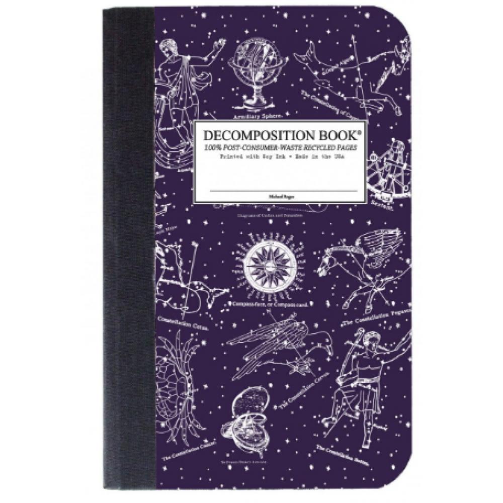 Decomposition Notebook - Pocket - Celestial