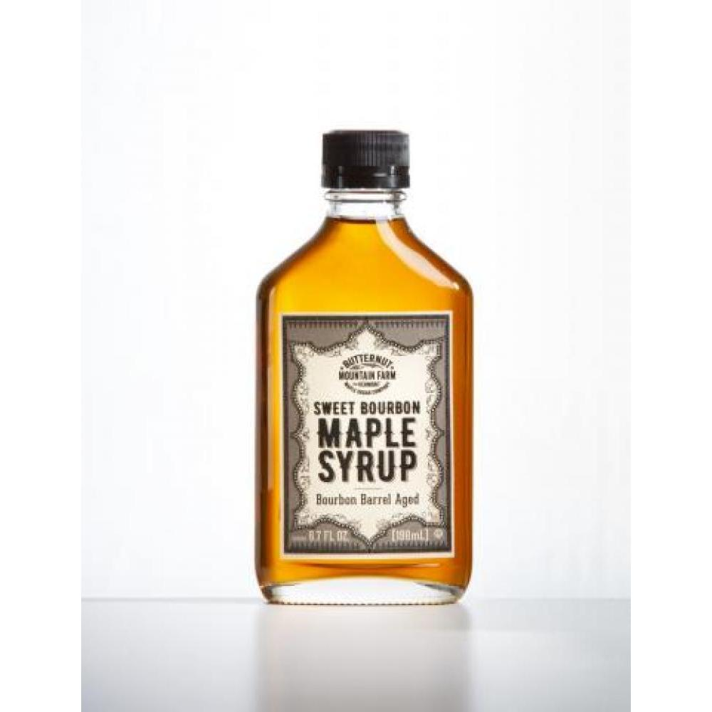 Infused Maple Syrup Flask Bourbon Barrel