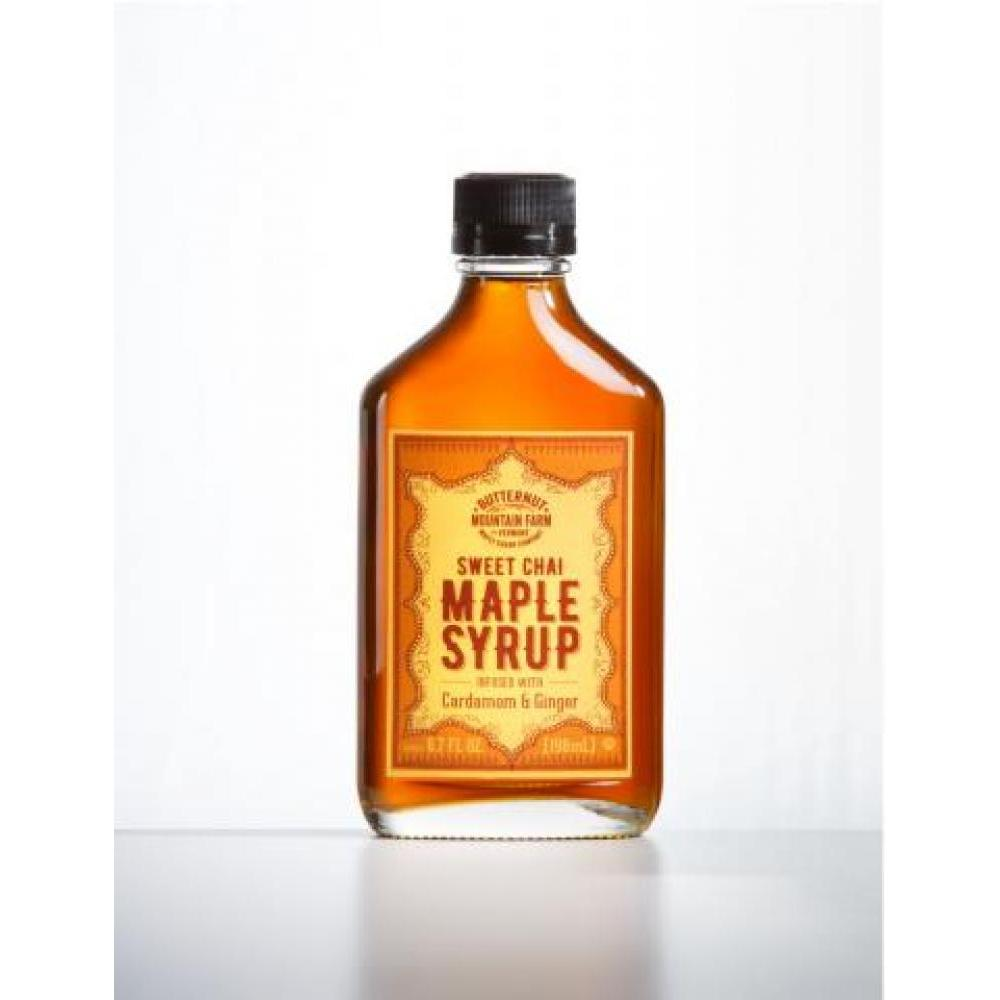 Infused Maple Syrup Flask Chai