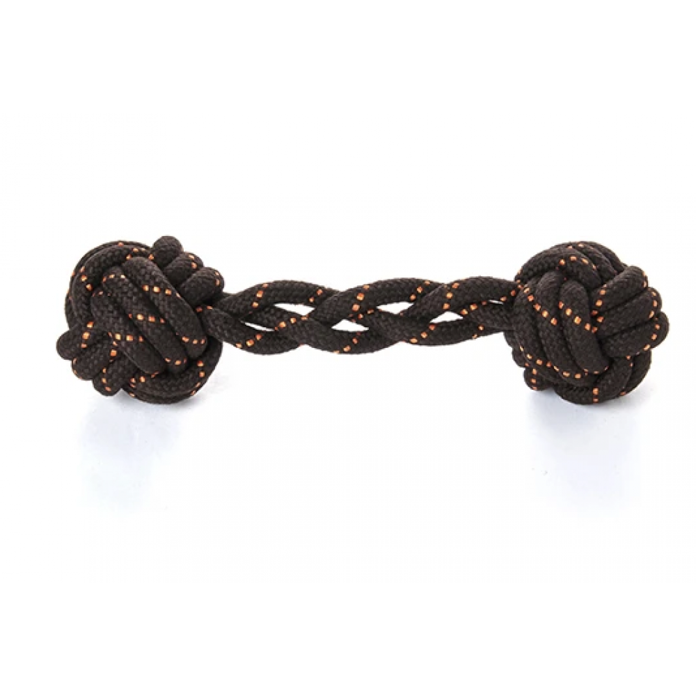 Dog Toy Scout and About Barbell Rope Large