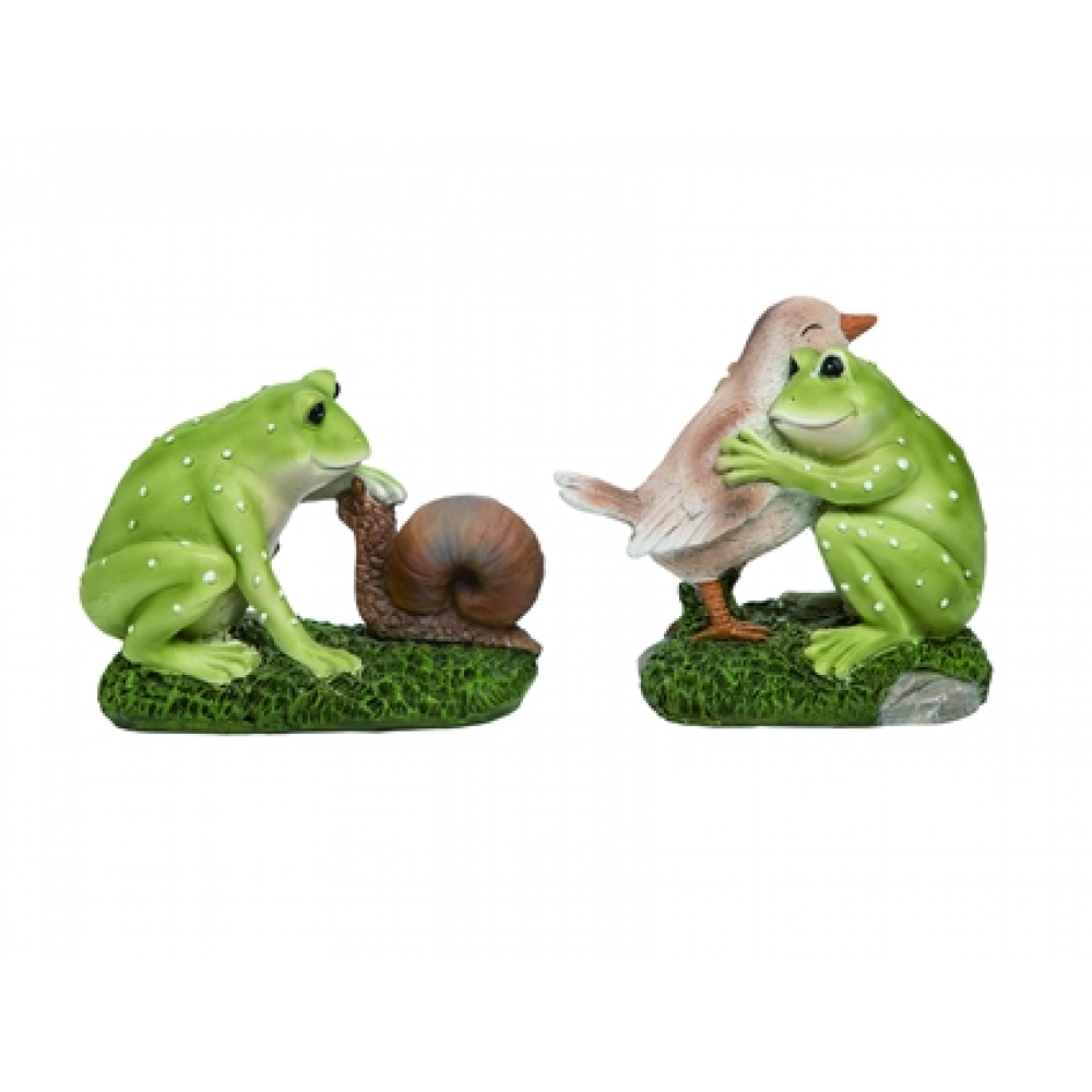 Figurines - Frog & Friend Assorted