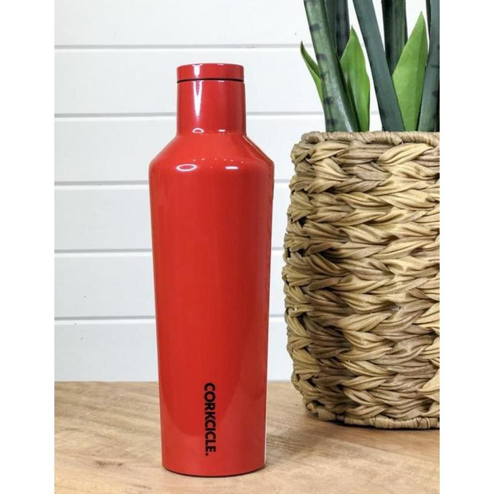 Travel Bottle Canteen 25oz Cherry Bomb