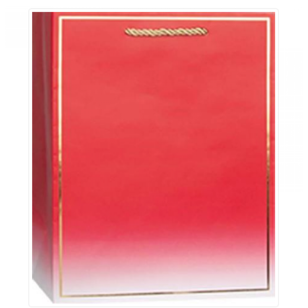 Gift Bag - Spectra-Crimson Medium