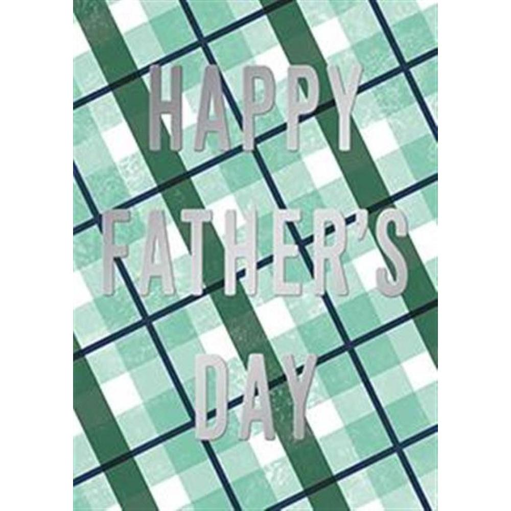 Fathers Day - Its Your Day Plaid