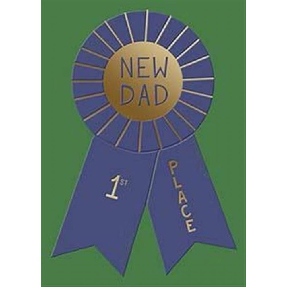 Fathers Day - New Dad - New Dad Ribbon