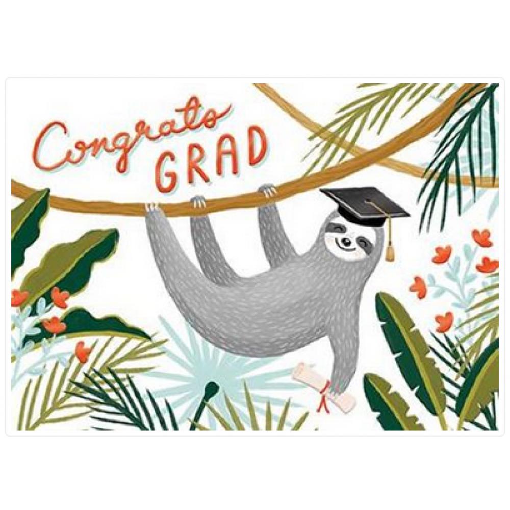 Graduation - Sloth
