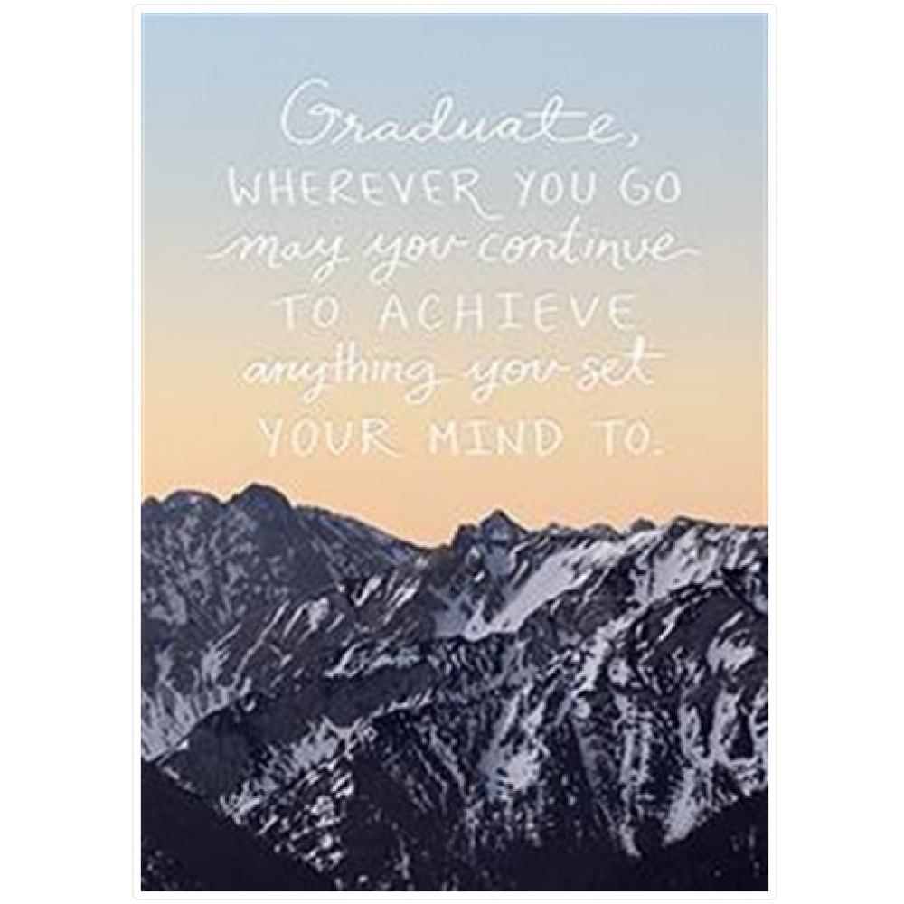 Graduation - Mountain