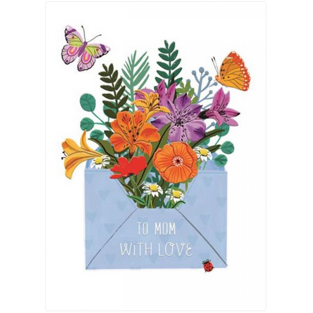 Mothers Day - Floral Butterflies