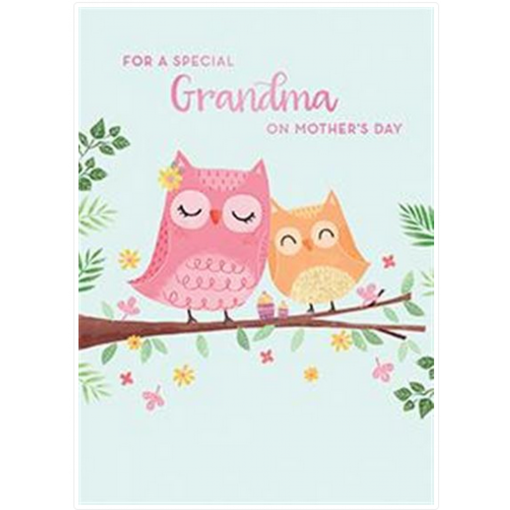 Mothers Day - Grandmother - Owl