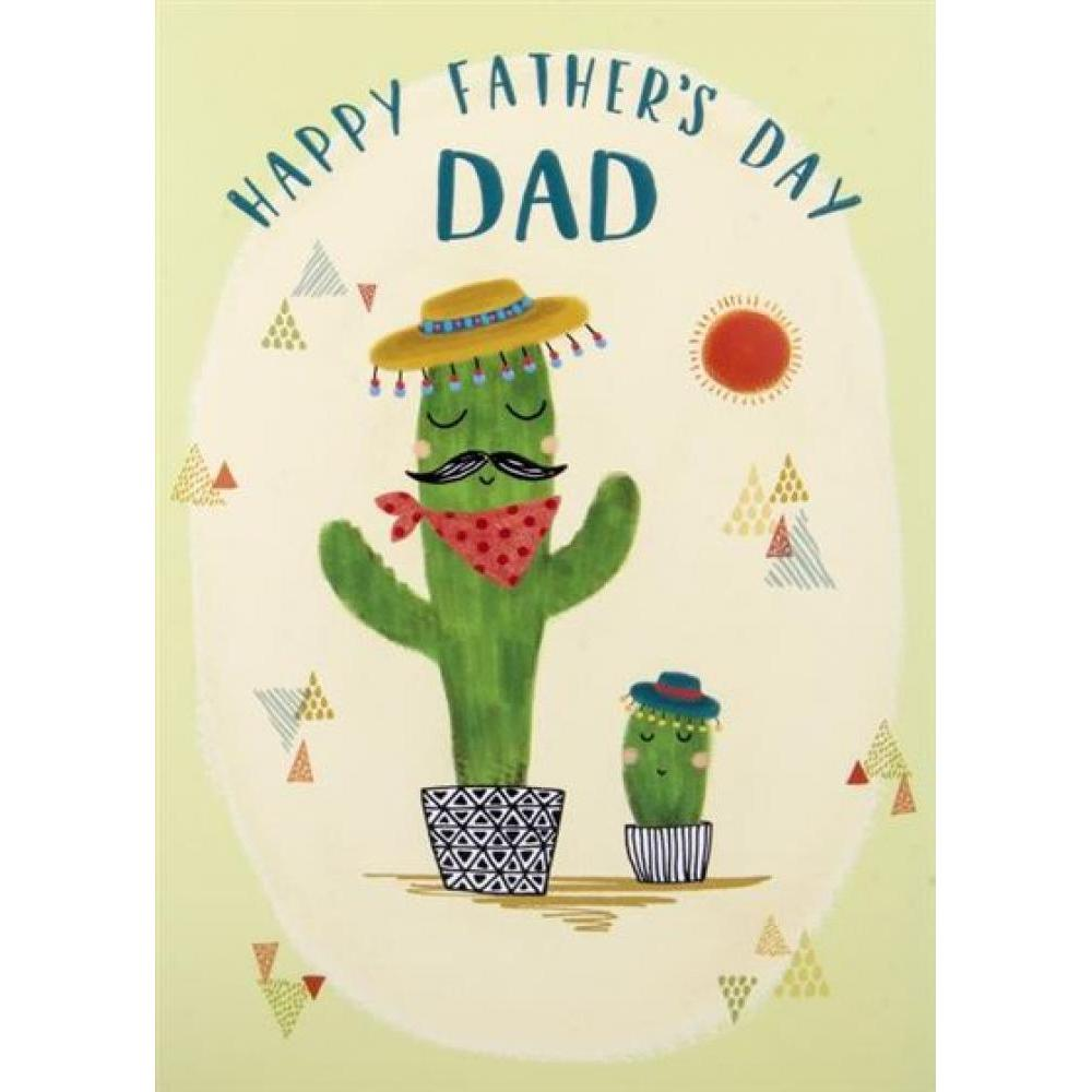 Fathers Day - Cactus Dad