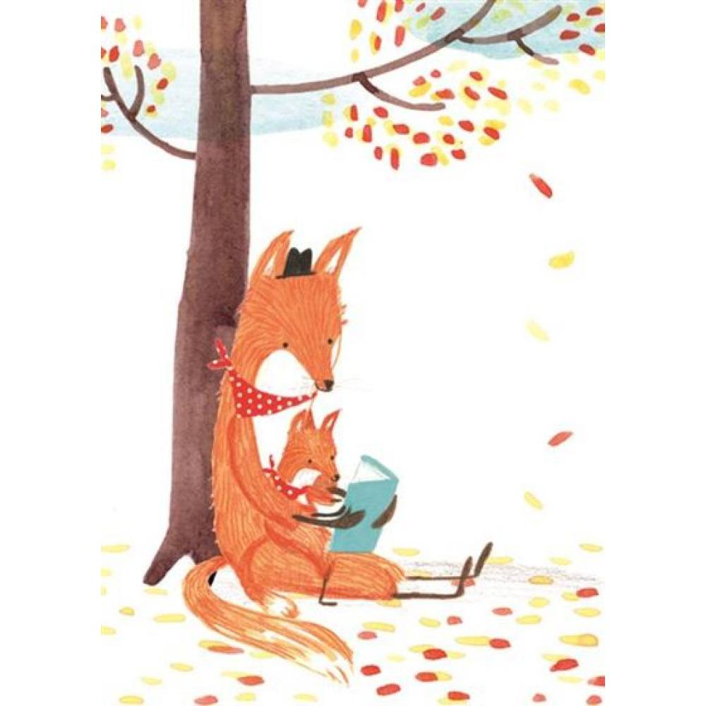Fathers Day - Foxes Reading