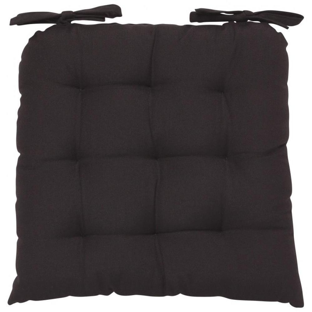 Renew Chair Pad Solid Black