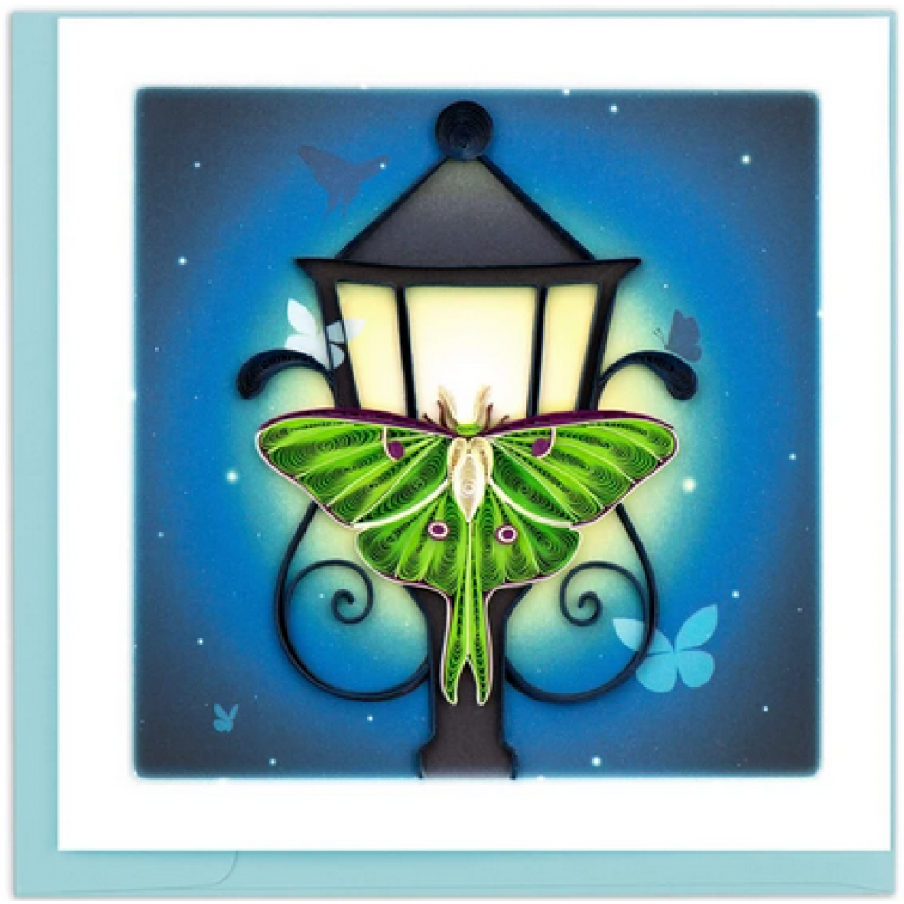 Any Occasion - Quilling Card - Luna Moth