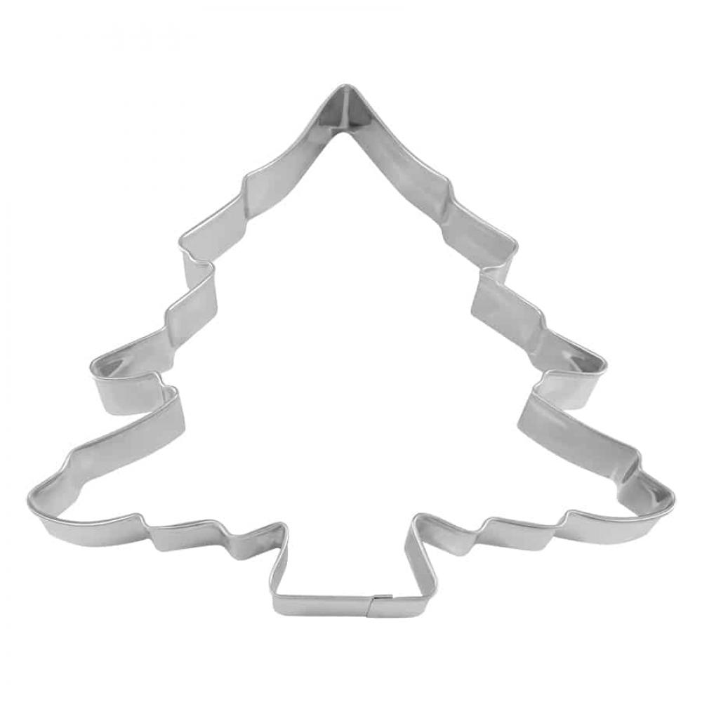 Extra Large cookie cutter 8 inch christmas tree poly-coat