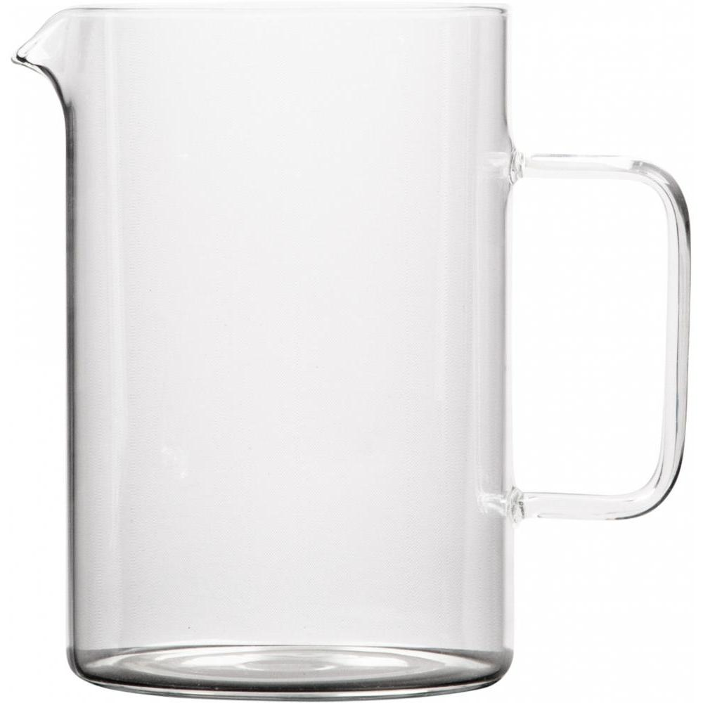Glass Pitcher 6.8in H
