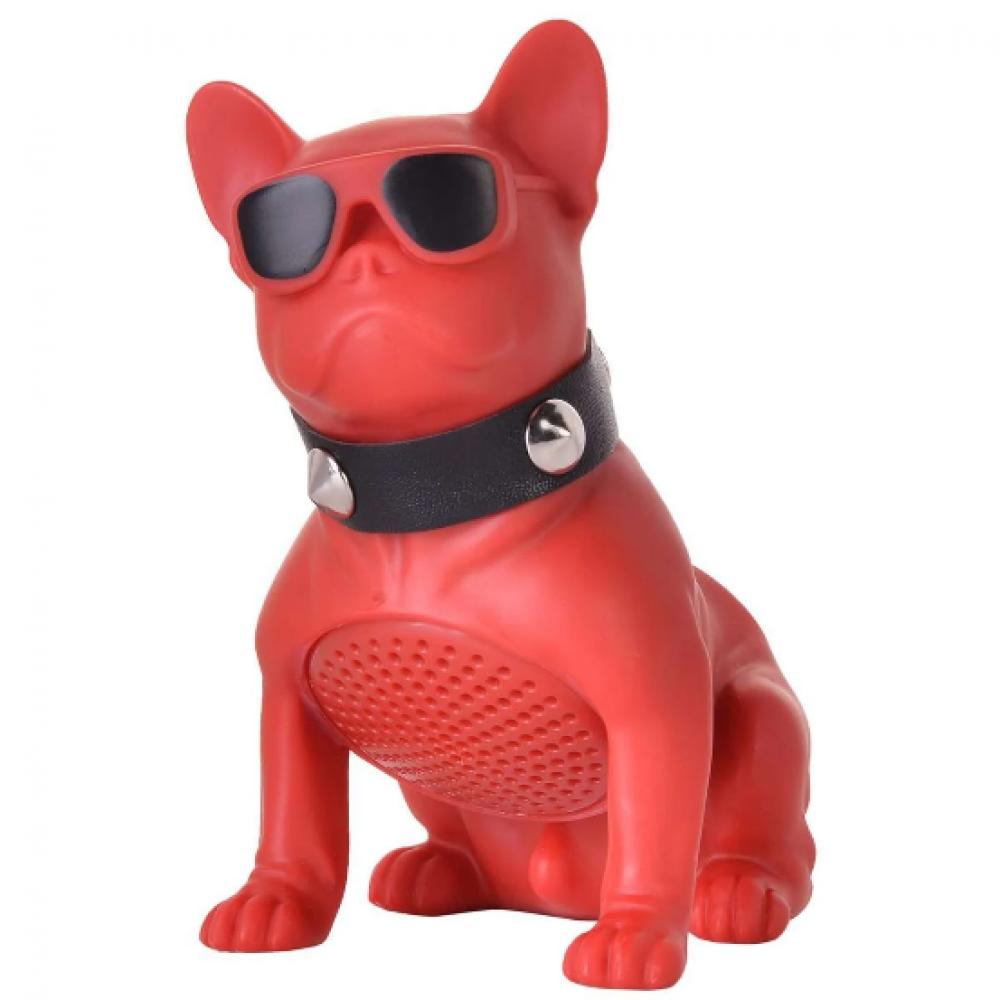 Red Bluetooth Bulldog