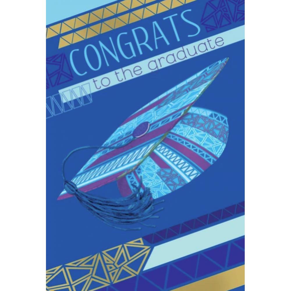 Graduation - Blue Grad Hat