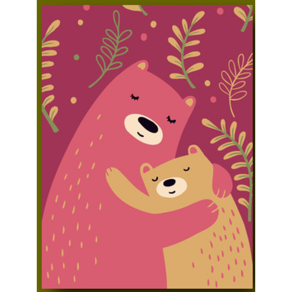Mothers Day - Mama Bear and Cub