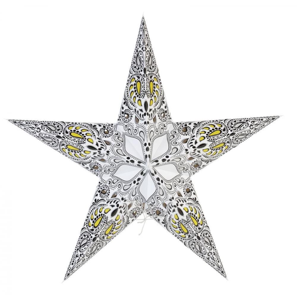 Star Lantern White Galaxy 24in