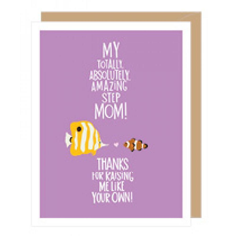Mothers Day - Step Mom - Fish